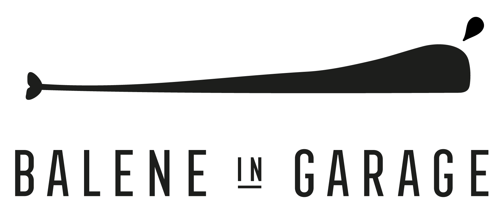 Balene in garage Logo